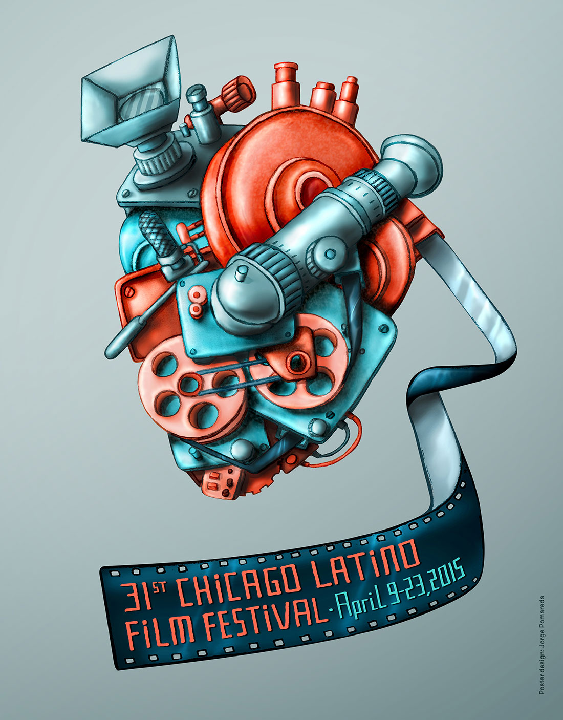 31st Chicago Latino Film Festival Poster